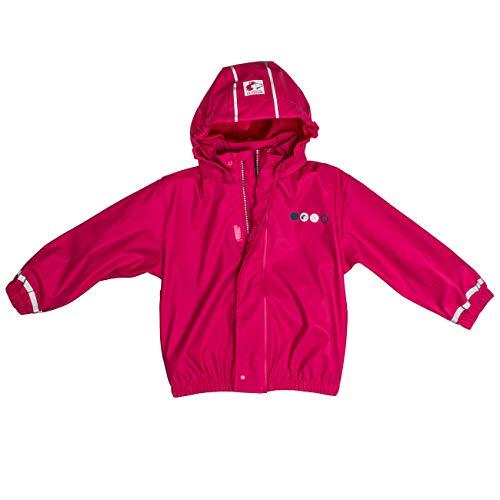 SALT AND PEPPER Mädchen Jacket RB Girls Uni Regenjacke, Pink (Pink 870), 110