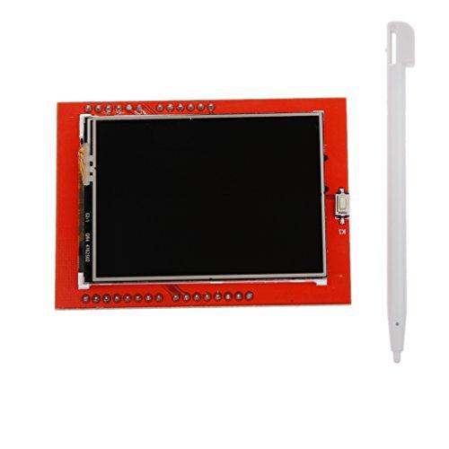 Scheda Del Modulo LCD TFT Touch Screen Da 2,4 Pollici Per Arduino Uno Nuovo