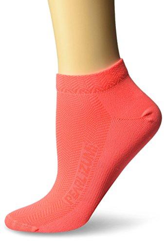 PEARL IZUMI W Silk Lite Sock, Fiery Coral, Medium -
