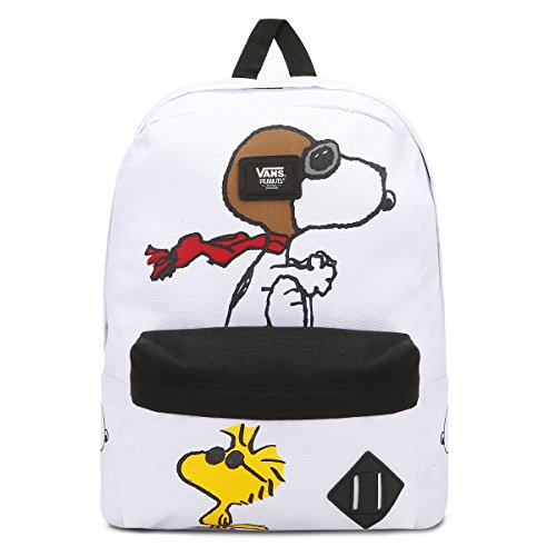 Imagen de vans old skool ii backpack  tipo casual, 42 cm, 22 liters, varios colores white peanuts  alternativa