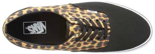 Vans  Era, baskets - skateboard mixte adulte Noir (Leopard Black)