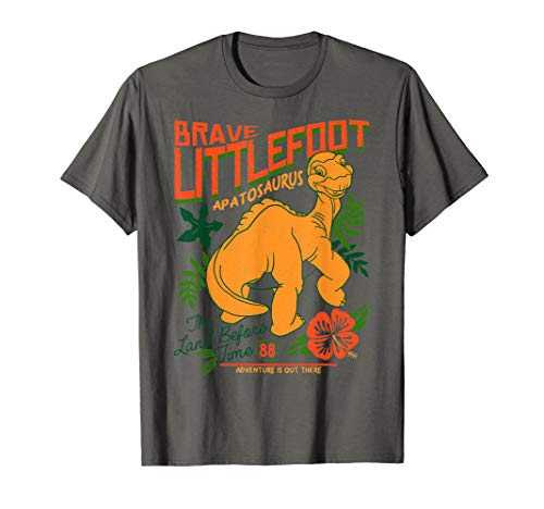 Land Before Time Brave Littlefoot Adventure Is Out There T-Shirt