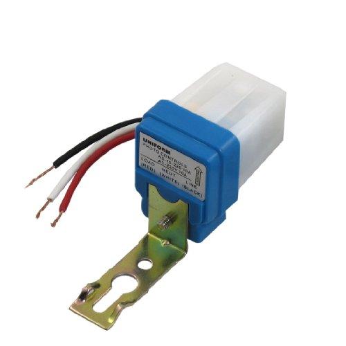 AC 220V 10A Fotozelle Sensor Automatische Licht Kontrolle Schalter w 3Draht