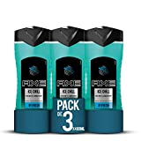 Axe Duschgel Ice Chill, 3er Pack (3 x 400 ml)