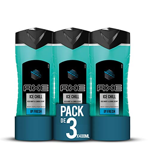 Axe Duschgel Ice Chill, 3er Pack  (3 x 400 ml)