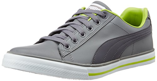 Puma Unisex Salz III Idp Steel Grey and Periscope Sneakers - 6 UK/India (39 EU)