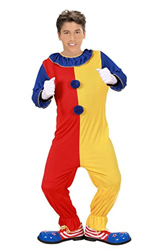 Widmann 02578 Erwachsenenkostüm Clown, (Clown Kinder Halloween Kostüme)
