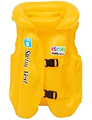 ABBY Les nourrissons et les jeunes enfants brassière de sauvetage gonflable enfants nager gilet enfants maillot de bain bébé gilet gonflable apprendre à nager