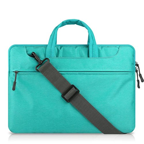 "Preisvergleich Produktbild GADIEMENSS Waterproof Laptop Shoulder Briefcase Bag Portable Computer case handbag For Apple Macbook Air Pro 13.3"" Blue"