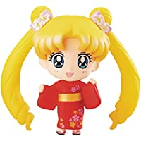 Sailor Moon Petit Chara Pretty Soldier Mini Figure Usagi Tsukino Yukata Ver. 10 cm Megahouse figures