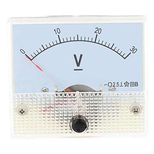 Kakiyi DC 30V Professional Analog Panel-Volt Voltage Meter Tester Messgerät 85c1 0-30V Spannungsmesser