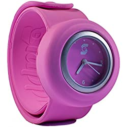 Original Slappie Neon Pink Slap Watch (BBC Dragons Den Winner) Adults/Kids Size Small