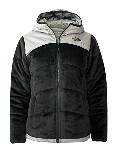 The North Face Youth GIRLS REVERSIBLE Perseus Insulated JACKET (L 14/16, Tnf Black) Youth Reversible Jacket