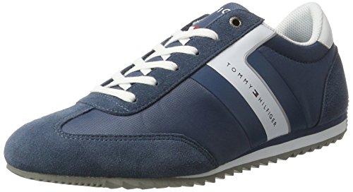 tommy-hilfiger-b2285ranson-8c1-mens-low-top-sneakers-blue-vintage-indigo-jeans-902-8-uk-42-eu