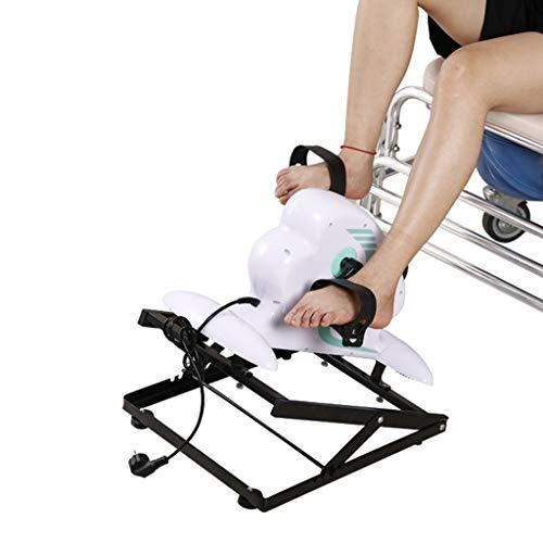 Unbekannt Pedal Trainer Bike, Elektrisches Trainingsgerät für Senioren Physiotherapie Rehabilitationsgeräte Fahrrad für Arm- / Beinübungen Stationäres Hausierer-Fitnessstudio