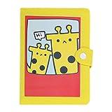 Vosarea Mini álbum de Fotos de Dibujos Animados 4R6 Pulgadas 40 Insertar páginas Personalizado Regalo Creativo Decoración Libro conmemorativo (pequeño Cervatillo Amarillo)