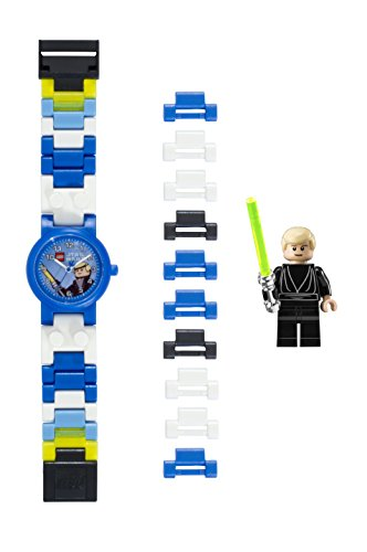 Lego Jungen Analog Quarz Smart Watch Armbanduhr mit Plastik Armband 8020356