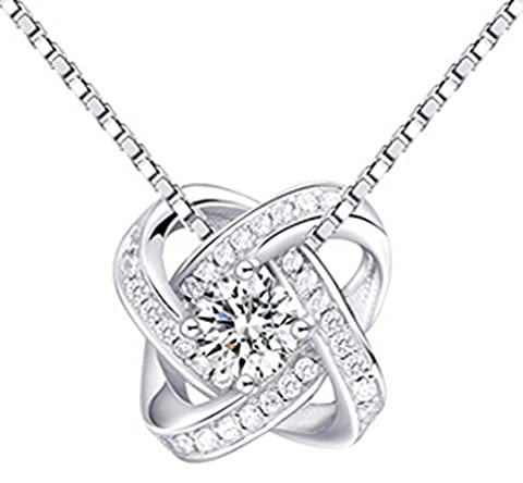 SaySure - Real 925 Sterling Silver Pendant Necklaces for