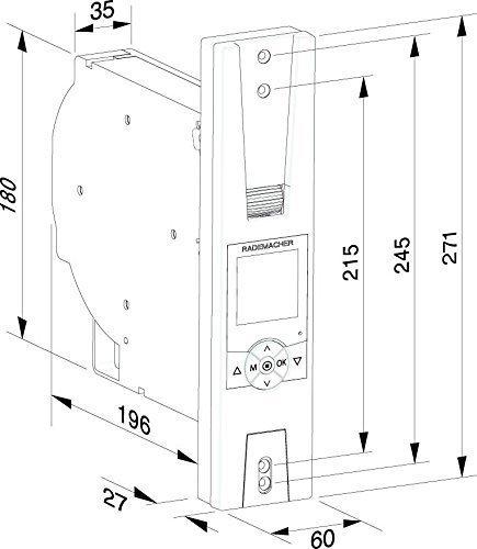 Rademacher Rolladenantrieb Up Comfort Plus Uws 16236019 Pro Besto De