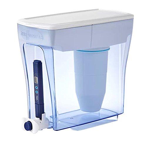 ZeroWater Krug für 20 Becher, bereit Gießspender, Wasserqualität, BPA-frei, NSF-Zertifiziert, um Blei und andere Schwermetalle zu reduzieren. -