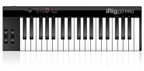 IK Multimedia 03-90062 iRig Keys Pro 37 Midi Keyboard controller für MAC/Pc inkl. USB Kabel (Ik Android Multimedia)