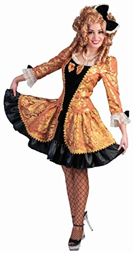 Costume barocco sexy dama travestimento 600