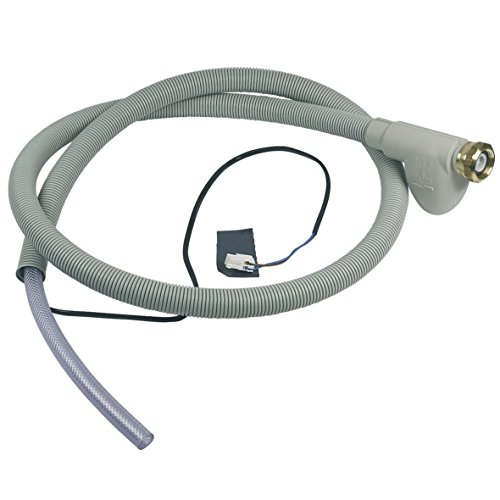 Europart 10028390 Zulaufschlauch Aquastop Schlauch 1,77m mit elektrischem Anschluss Spülmaschine Geschirrspüler passend wie Ignis...