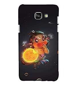 FUSON Baby Hanuman Eating Sun 3D Hard Polycarbonate Designer Back Case Cover for Samsung Galaxy A5 (6) 2016 :: Samsung Galaxy A5 2016 Duos :: Samsung Galaxy A5 2016 A510F A510M A510Fd A5100 A510Y :: Samsung Galaxy A5 A510 2016 Edition