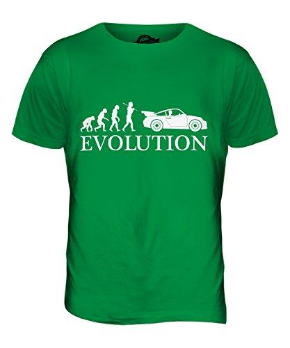 CandyMix Sportswagen Evolution Des Menschen Herren T Shirt Grün
