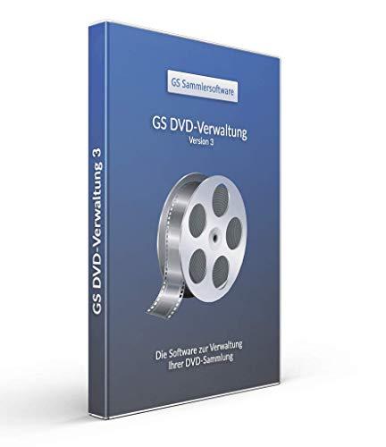 GS DVD-Verwaltung 3 - Software zur Verwaltung Ihrer DVD-Sammlung - Datenbank Programm zur DVD-Verwaltung