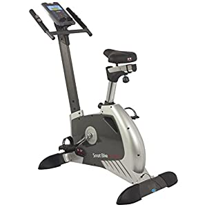 BODY SCULPTURE Smart Bike Ergometer 28156 Heimtrainer – Fahrrad-Trainer  magenetisches Schwungmassensystem Bluetooth + App fähig Computer Brustgurt-Empfänger Handpulssensoren