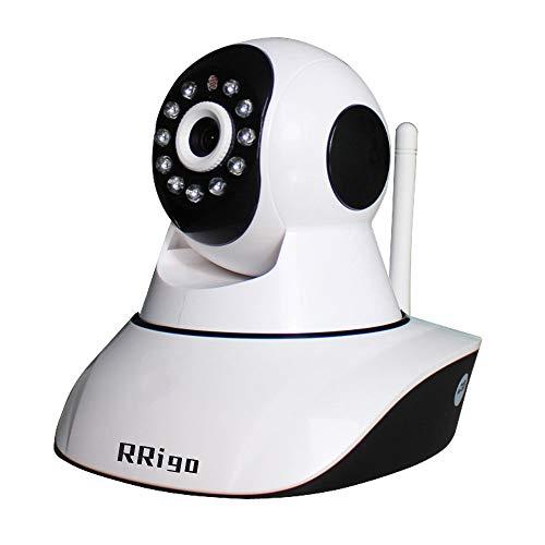 IP Kamera, 720P HD WLAN Überwachungskamera Innen mit 355°/90° Schwenkbar, Zwei-Wege-Audio, Bewegungserkennung, Nachtsicht, Baby Monitor Unterstützt Fernalarm und Mobile App Kontrolle (720P)