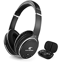 Active Noise Cancelling Headphones 4.1 Bluetooth Wireless Over-Ear Foldable Headphones CSR Chip Protein Material and Adjustable Ear Cover