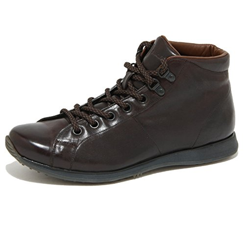 0945O polacchini CAR SHOE marrone stivaletti uomo boots men [6.5]