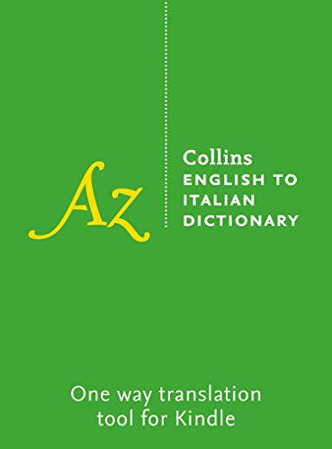 Collins English to Italian Dictionary