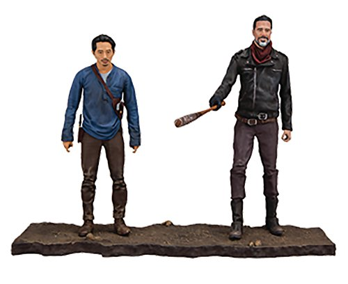 Walking Dead 14518 TV negan y Glenn figura de acción, 12,7 cm