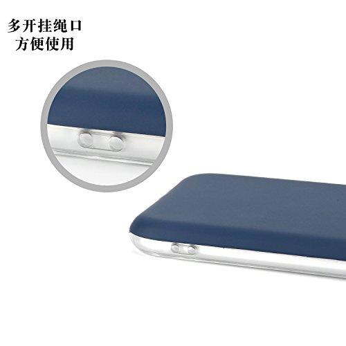 EKINHUI Case Cover Dual Layer PC + TPU Hybrid Shell Abdeckung 360 ° Ganzkörper Schutz Schock Absorbtion Fall Ultra Thin Slim Gehäuse für iPhone 6 Plus & 6s Plus ( Color : Rose gold ) Gold