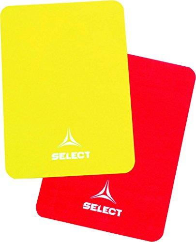 Select Schiedsrichterkarten, One Size, rot gelb, 7490900000