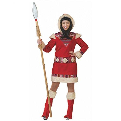 Pierro´s Kostüm Eskimo Dame Nana Damenkostüm Größe -