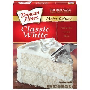 Duncan Hines, Classic White Cake Mix, 16.50oz Box (Pack of 2) by Duncan Hines