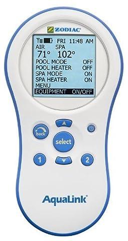 Jandy PDA Zodiac R0441800 Wireless Aqualink Remote Controller 8265 8261 - White