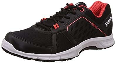 Reebok Men's Edge Quick 2.0 Black, Atomic Red and White Running Shoes - 10 UK