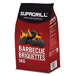 Supagrill 5KG Bag of High Quality Coal Briquettes Charcoal For BBQs