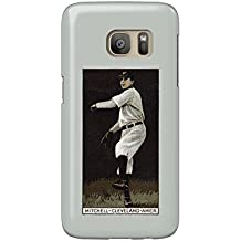 Cleveland Naps - Mike Mitchell - Baseball Card (Galaxy S7 Cell Phone Case, Slim Barely There)