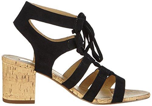 Esprit Redy Sandal, Sandales Bride cheville femme Noir - Schwarz (001 black)
