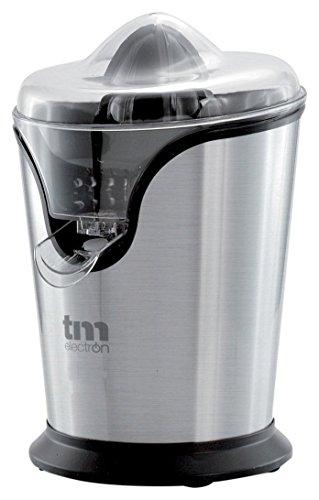Tm Electron TMPEX008 Exprimidor eléctrico de cítricos en acero inoxidable 100 W, Gris