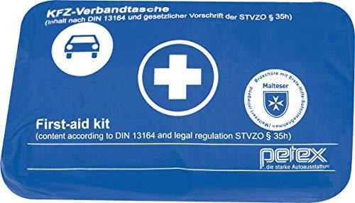 Preisvergleich Produktbild PETEX Verbandtasche Inhalt Nach Din 13164 Blau