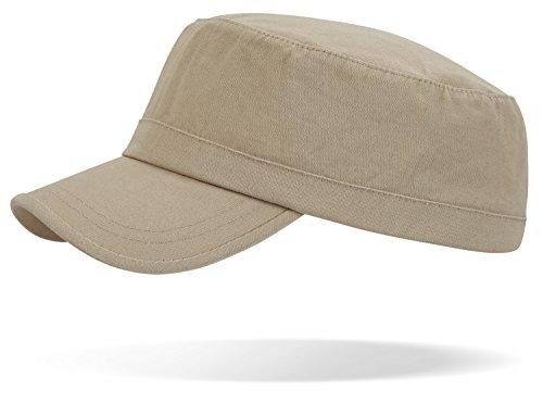 pre-washed cotone Army Cap in vari colori, - Coyote, Taglia unica