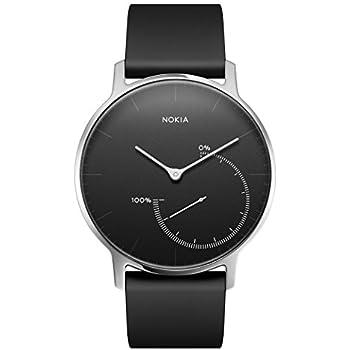 Nokia Steel - Montre connectée de suivi d'activité et de sommeil - Noir