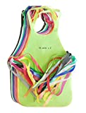 Monicaxin - Delantales no-tejidos de usar y tirar para adultos y niños, 20 unidades(10colores x 2 unidades). Para cocina, barbacoa, pintar.